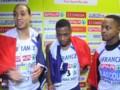 Euro d'athlétisme : triplé français historique au 60 m haies, la réaction d'un des champions