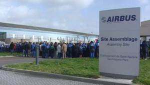 Le site d'assemblage d'Airbus à Saint-Nazaire