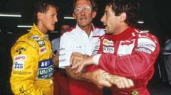 Michael Schumacher et Ayrton Senna, deux légendes de la Formule 1.