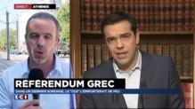 """Référendum grec : le """"oui"""" l'emporterait de peu selon un sondage"""