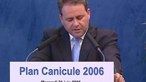 TF1 - LCI Xavier Bertrand présente le Plan anti-canicule 2006