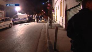 Un réglement de compte à Marseille, le 12 avril 2012.