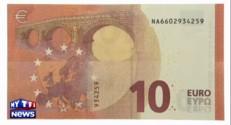 Voici à quoi ressemble le nouveau billet de 10 euros