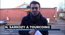 A Tourcoing, Sarkozy n'a pas ménagé ses critiques contre le gouvernement