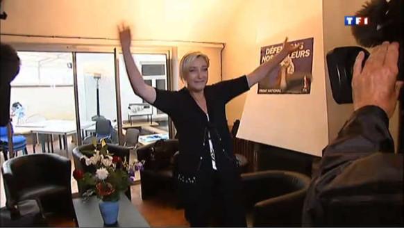 Malgré sa défaite à Hénin-Beaumont, Marine Le Pen garde le sourire