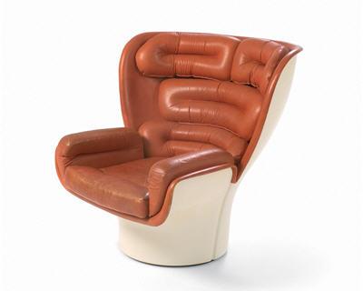 déco salon du vintage fauteuil Jo colombo