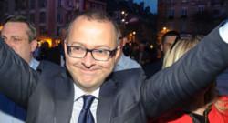 Damien Meslot, député-maire de Belfort le 30 mars 2014