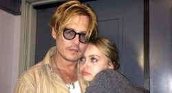 Johnny Depp et sa fille Lily-Rose sur Instagram
