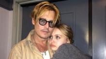 Johnny Depp et sa fille Lily-Rose sur Instagram
