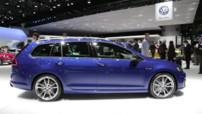La Volkswagen Golf R Variant présentée au Salon de Genève 2015 mais non disponible en France