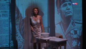 """Le 13 heures du 9 mars 2015 : Corinne Touzet sur scène : """"Mon amour de l'Italie est dans cette pièce"""" - 1667.852"""