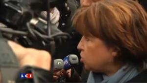 Martine Aubry voit un signe fort dans la mobilisation des Français