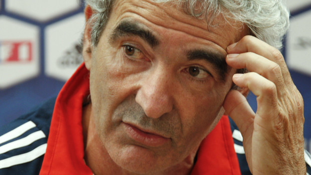 Raymond Domenech, le 18 juin 2008