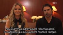 Les Feux De L'amour - Les Feux De L'amour - Exclu ! Nick Et Sharon, Complices à Paris !