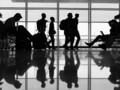 aeroport illustration prétexte transit passager voyageur