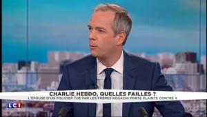 """""""C'est une passoire"""" lui avait dit son mari : la veuve du garde du corps de Charb raconte"""
