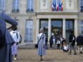 Des visiteurs au palais de l'Elysée lors des Journées du Patrimoine 2014