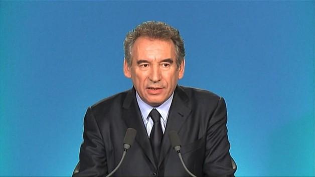 François Bayrou le 3 mai 2012.