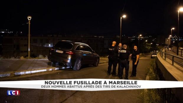 Fusillade à Marseille : deux hommes abattus et une adolescente grièvement blessée