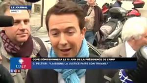 """Guillaume Peltier, """"abasourdi et très peiné par l'affaire Bygmalion"""""""