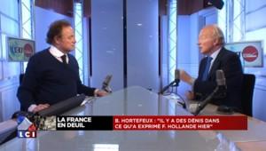 """Hortefeux : """"La faille majeure, c'est l'erreur de politique étrangère"""""""