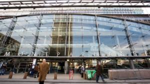 Le parvis de la Gare Montparnasse, Paris XIV.