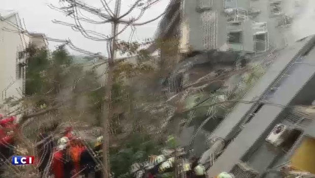 Taïwan : un violent séisme fait 5 morts et 300 blessés