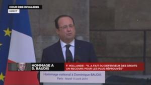 François Hollande hommage