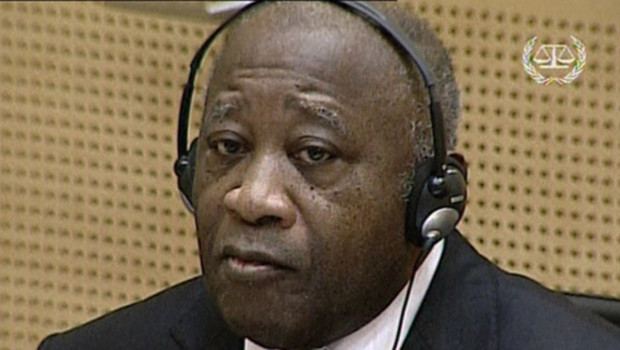 Laurent Gbagbo devant la Cour pénale internationale, le 5/12/11