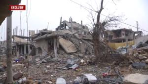 Syrie : dans les ruines de Kobané