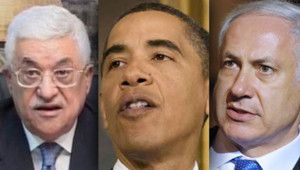 Abbas Obama Netanyahu
