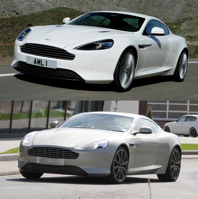 News Automoto : Nouvelle Aston Martin DB9 2013 : Une