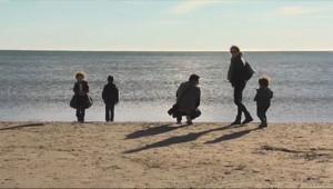 Le 13 heures du 4 janvier 2015 : Hérault : certains vacanciers ont profité du soleil jusqu'au dernier moment - 172.868