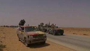 Les insurgés se dirigent vers Bani Walid, le 3 septembre 2011.