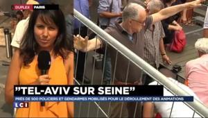 """Tel Aviv sur Seine : ambiance """"cool"""", des Français de confession juive """"rassurés"""""""