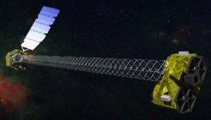 Vue d'artiste du télescope spatial NuSTAR de la Nasa