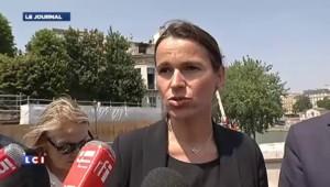 """Incendie de l'Hôtel Saint-Lambert : Filippetti déplore """"des destructions irréversibles"""""""
