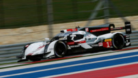 L'Audi n°1 de Lucas di Grassi, Loïc Duval et Tom Kristensen.