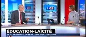 """Laïcité : Najat Vallaud-Belkacem """"a pris le temps d'écouter anciens ministres, parents et enseignants"""" réagit Bianco"""