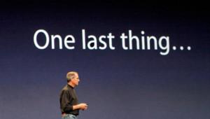 Steve Jobs lors d'une présentation Apple en juin 2007