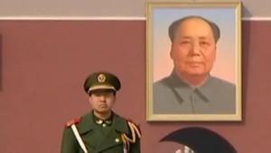 TF1/LCI Le portrait de Mao, à Pékin.