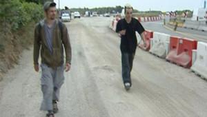 TF1 LCI raveurs vannes aérodrome teknival