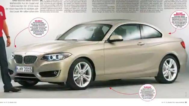News automoto bmw s rie 2 coup 2014 nouvelles images - Nouvelle bmw serie 2 coupe ...