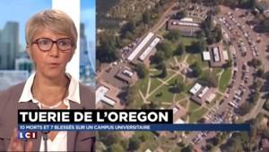 """Fusillade dans l'Oregon : """"Plus de tués par les armes à feu que du terrorisme"""""""