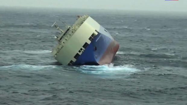Le cargo panaméen à la dérive au large des côtes françaises