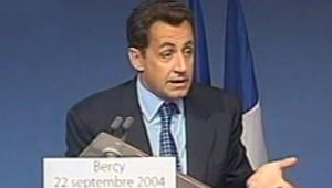 Nicoals Sarkozy budget 2005