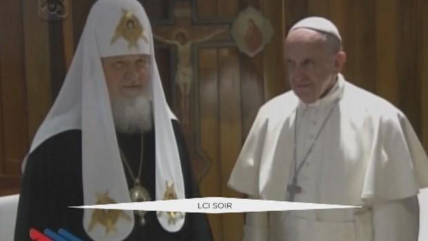 1000 ans après le schisme, le pape François et le patriarche orthodoxe Kirill réunis