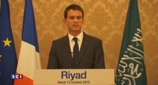 Arabie Saoudite : Valls aborde la question des droits de l'Homme à Ryad
