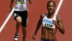 christine arron 100m sprint jo pékin