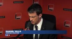 """""""Cinq attentats déjoués"""" depuis janvier dernier, affirme Manuel Valls"""